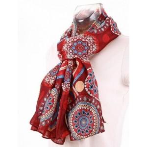 foulard satine rondement rouge foulards charpes. Black Bedroom Furniture Sets. Home Design Ideas