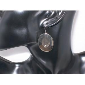 Boucles métal argenté