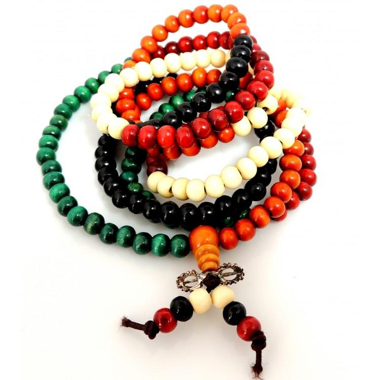 Couleur Bois De Santal  Bracelet perles de bois de santal 4 couleurs  ~ Couleur Bois De Santal