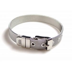 Bracelet en acier 316 L pour homme en forme de ceinture