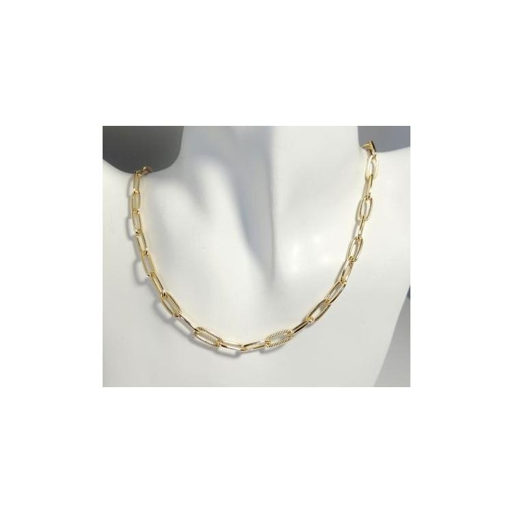 collier ras de cou femme or