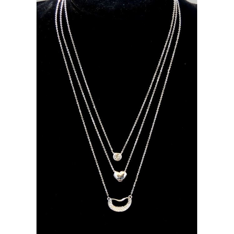 collier femme 3 or