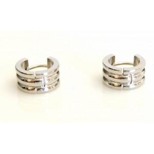 Boucles d'oreilles pour homme en acier 316 L