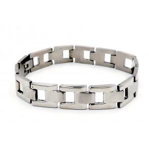 Bracelet en acier inoxydable 316 L brillant