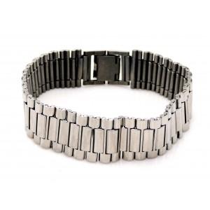 Bracelet en acier inoxydable type bracelet montre