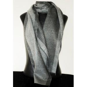 Echarpe de qualité premium pour homme, 2 tons de gris